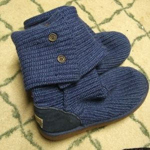 Navy Blue Original Cardy Ugg Boots